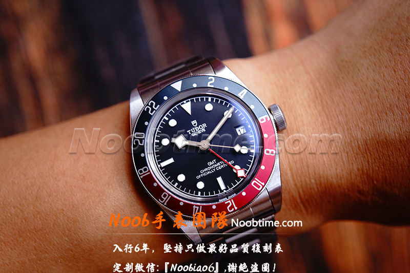 ZF帝舵蓝红圈GMT「V5版」ZF厂帝舵格林尼治不再一眼假  第17张