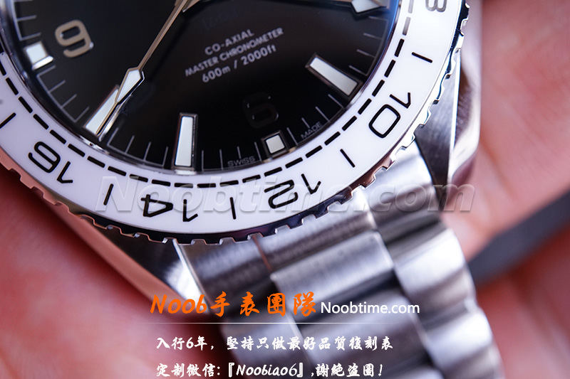 VS厂海马600太极圈「GMT+8906机芯」VS厂海马太极圈不再一眼假  第13张