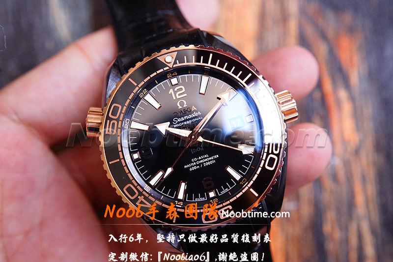VS厂深海之王玫金「GMT+8906机芯」VS厂深海之王600不再一眼假  第3张