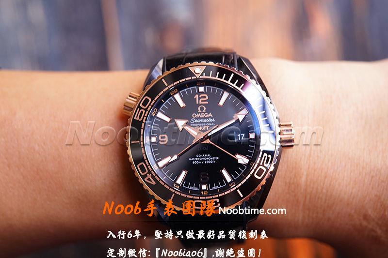 VS厂深海之王玫金「GMT+8906机芯」VS厂深海之王600不再一眼假  第22张