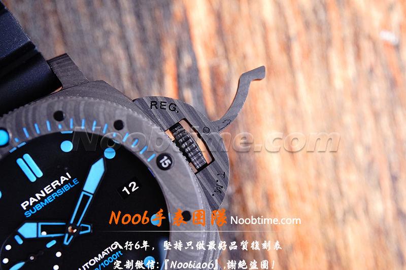 VS厂沛纳海1616复刻表「碳纤维」VS厂沛纳海1616真假对比一眼假吗?  第10张