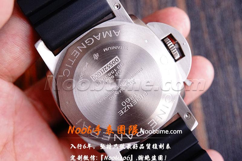 VS厂沛纳海389「V2版GMT+9000机芯」VS厂沛纳海389怎么样?  第13张