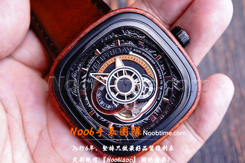 AR黑水鬼V3一眼假-AR工厂手表